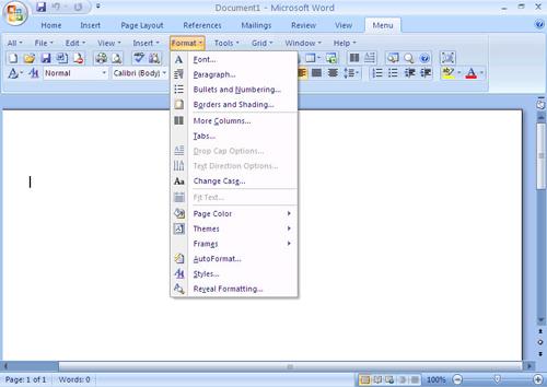 Самая популярная программа для работы с текстами - Microsoft Word