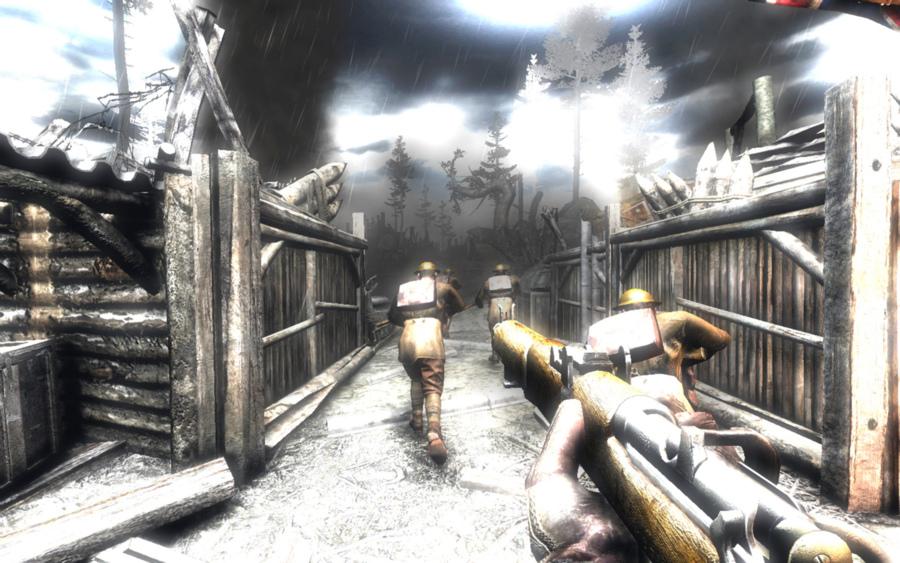 Ключ от игры Necrovision Скачиваете в интернете лицензионный образ игры, ус
