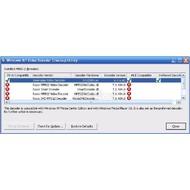 Скриншот Windows XP Video Decoder Checkup Utility 1.0.0.1