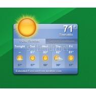 Скриншот Yahoo! Weather 3.0