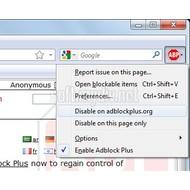 Скриншот Adblock Plus 1.3.3
