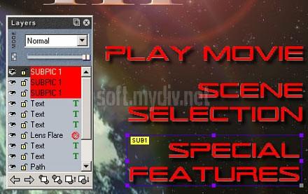 DVD Menu Studio 2.0.17. . Скриншоты программы.