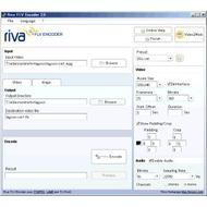 Скриншот Riva FLV Encoder 2.0
