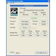 Скриншот RightMark CPU Clock Utility (RMClock) 2.35