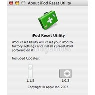 Скриншот iPod shuffle Reset Utility 1.0.1.65