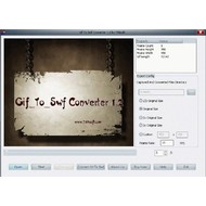 Скриншот Gif To Swf Converter 1.2