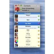 Скриншот Adium 1.4 Beta 7 / 1.3.5