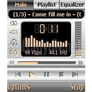 Скриншот PowerMP3 (Symbian S60 v2) 3.01