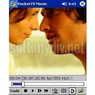 Скриншот PocketTV Classic (WM5/WM6) 1.4.4