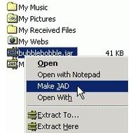 Скриншот JADMaker 1.21