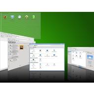 Скриншот openSUSE 11.2