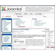 Скриншот Joomla! 1.6.0