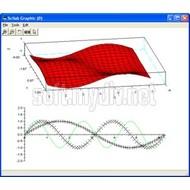 Скриншот Scilab 5.2