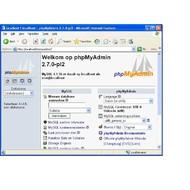 Скриншот phpMyAdmin 3.3.9.2 / 3.4.0 Beta 4