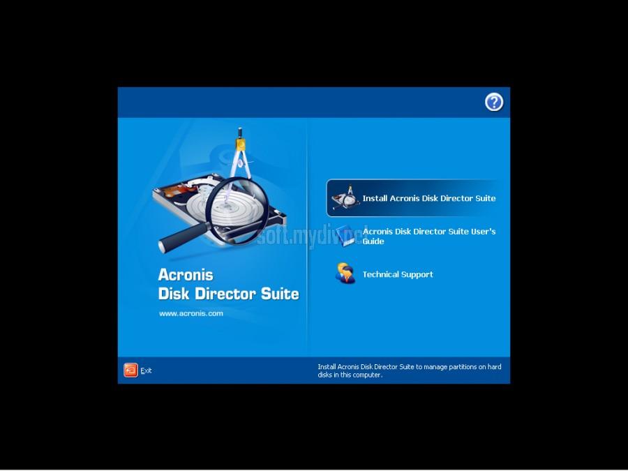 Acronis Disk Director Suite 10.0 Russian - это удобная и простая в использо