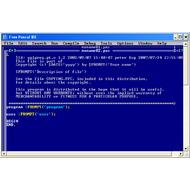 Скриншот Free Pascal 2.6.0