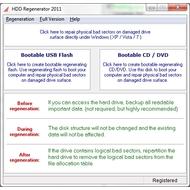 Скриншот HDD Regenerator 2011