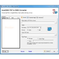 Окно PDF 2 DWG