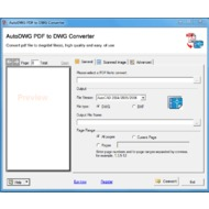 Скриншот AutoDWG PDF to DWG Converter 2019