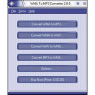 Скриншот WMA To MP3 Converter 2.8.5