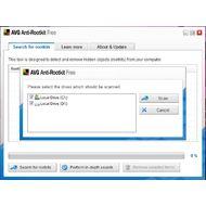Скриншот AVG Anti-Rootkit 1.1.0.42