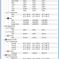Скриншот HWMonitor 1.19.0