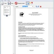 Скриншот Scan to PDF Standard Edition 4.1.8.4