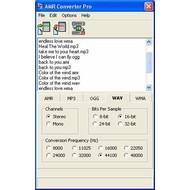 Скриншот AMR Converter Pro 4.01