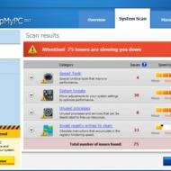 Скриншот SpeedUpMyPC 2012 5.2.1.7