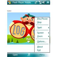 Скриншот Flash Player Mobile 1.5