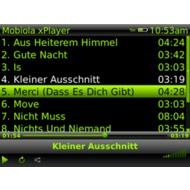 Прослушивание музыки и редактирование плей-листа.