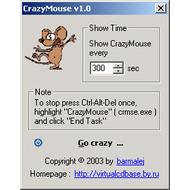 Скриншот Crazy Mouse 1.0