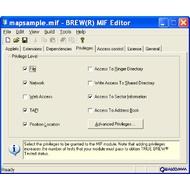 Скриншот MIF Editor 1.5
