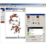 Скриншот Adobe Streamline 4.0