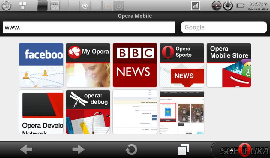 Опера мини как сделать мобильную версию
