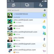 IM+ Instant Messaging для BlackBerry