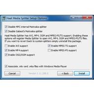 Скриншот Haali Media (Matroska) Splitter 1.11.288.0