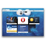 Скриншот Opera для Mac OS 12.02
