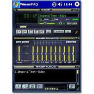 WinamPAQ 1.0 для Windows Mobile PocketPC