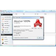 Скриншот Alcohol 120% 2.0.2.5830