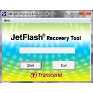 Скриншот JetFlash Recovery Tool 1.0.20