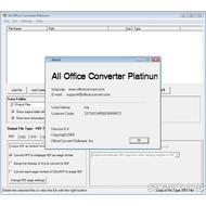 Скриншот All Office Converter Platinum 6.4