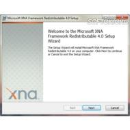 Скриншот Microsoft XNA Framework Redistributable 4.0