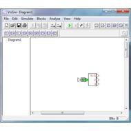 Скриншот VisSim 5.0
