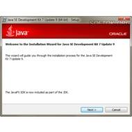 Скриншот Java Standard Edition 7