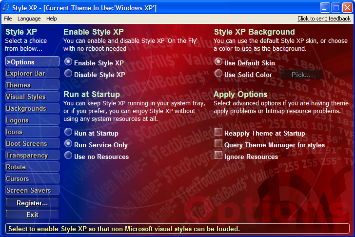 Style XP Men 3.19.