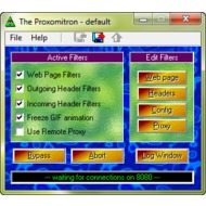 Скриншот Proxomitron 4.5j