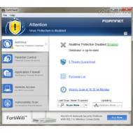 Скриншот FortiClient Standard 5.0.5.308