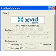 Скриншот XviD Media Codec 1.3.2