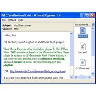 Скриншот Winmail Opener 1.4